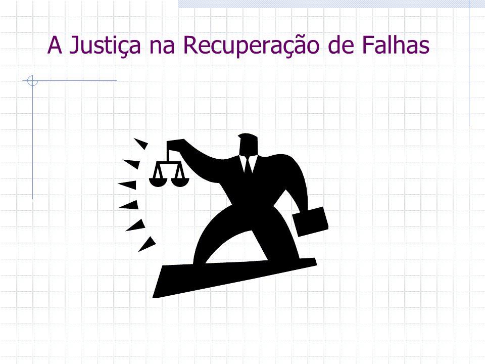 A Justiça na Recuperação de Falhas