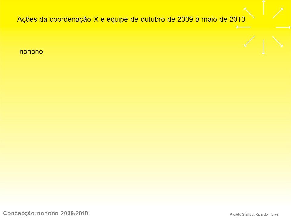 Concepção: nonono 2009/2010.