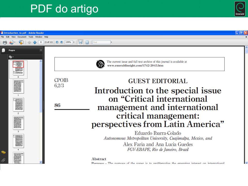 PDF do artigo