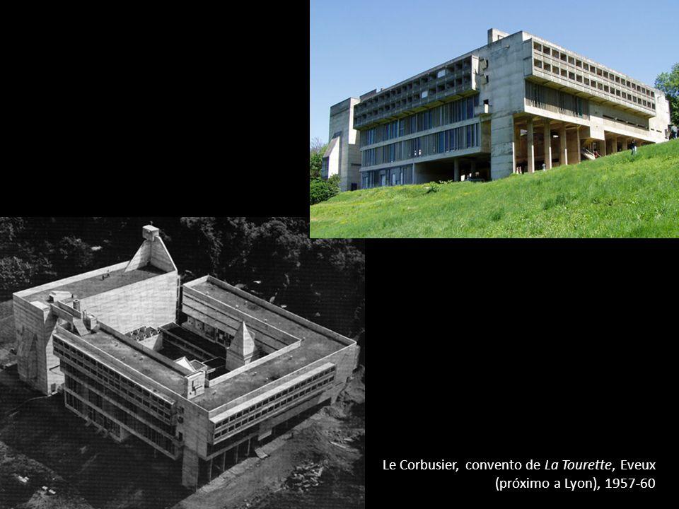 Le Corbusier, convento de La Tourette, Eveux (próximo a Lyon), 1957-60