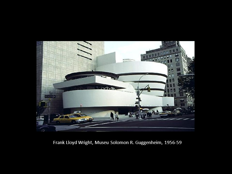 Frank Lloyd Wright, Museu Solomon R. Guggenheim, 1956-59
