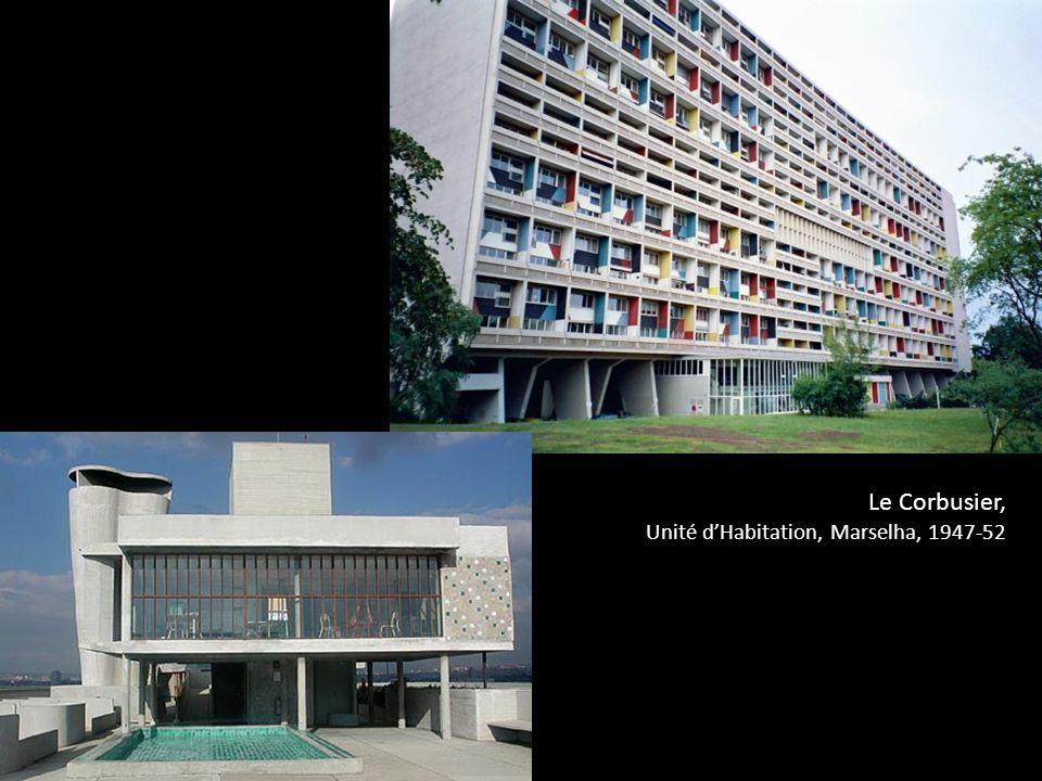 Le Corbusier, Unité d'Habitation, Marselha, 1947-52