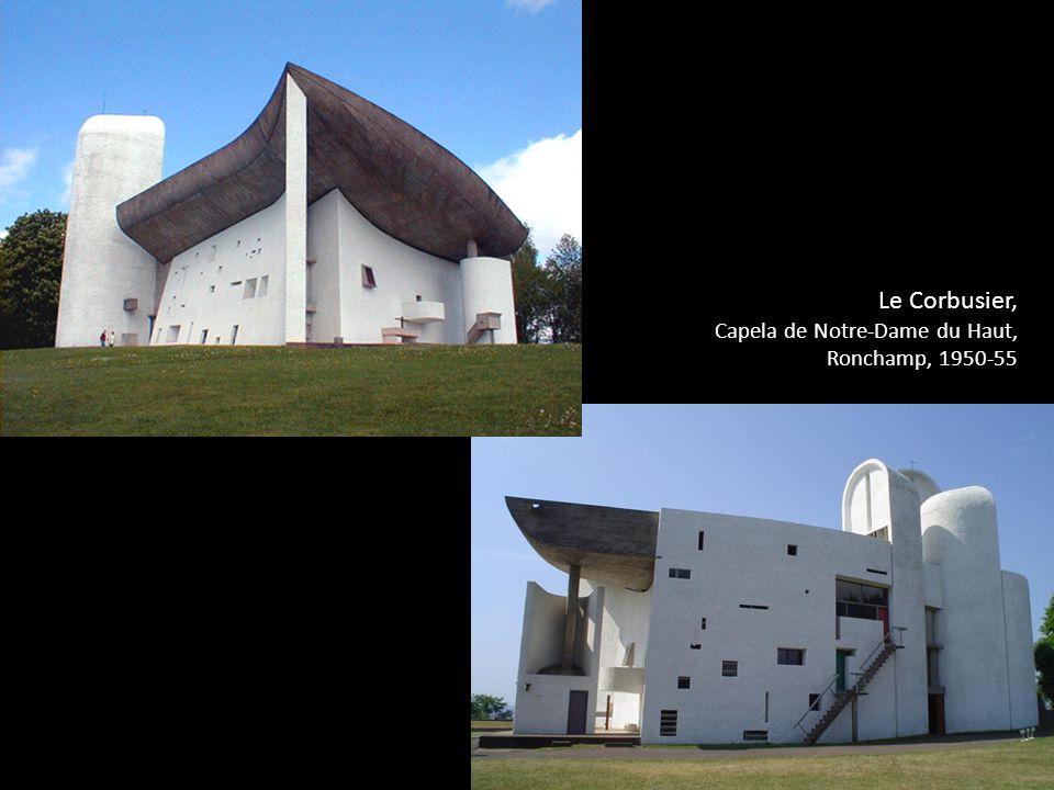 Le Corbusier, Capela de Notre-Dame du Haut, Ronchamp, 1950-55