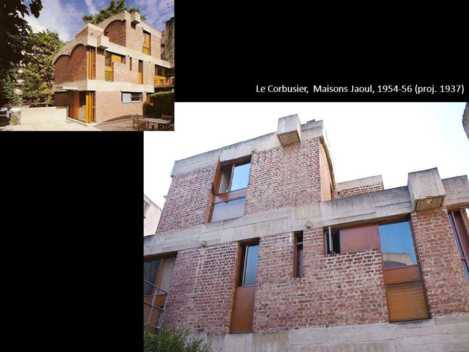 Le Corbusier, Maisons Jaoul, 1954-56 (proj. 1937)