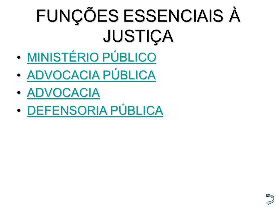 FUNÇÕES ESSENCIAIS À JUSTIÇA MINISTÉRIO PÚBLICOMINISTÉRIO PÚBLICOMINISTÉRIO PÚBLICOMINISTÉRIO PÚBLICO ADVOCACIA PÚBLICAADVOCACIA PÚBLICAADVOCACIA PÚBL