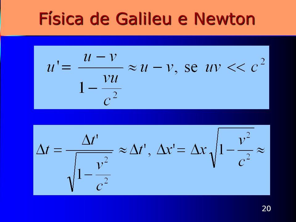 20 Física de Galileu e Newton