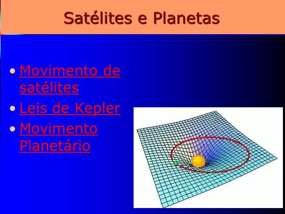 7 Satélites e Planetas Movimento de satélitesMovimento de satélites Leis de Kepler Movimento PlanetárioMovimento Planetário