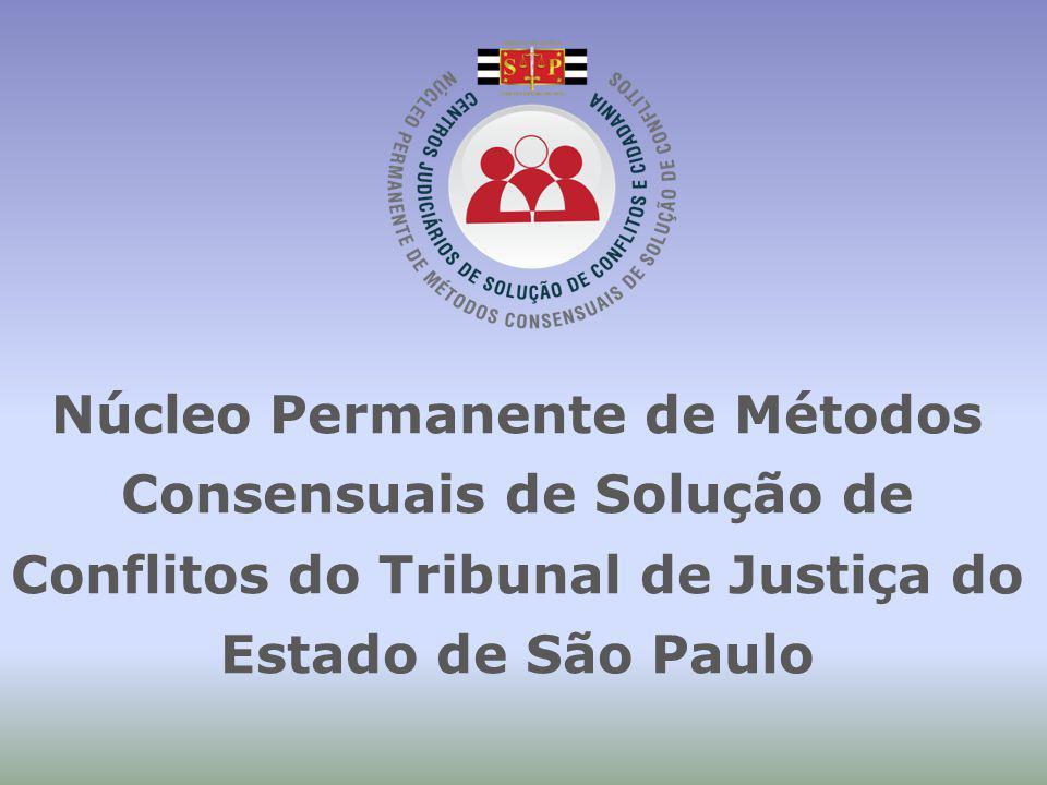 Núcleo Permanente de Métodos Consensuais de Solução de Conflitos do Tribunal de Justiça do Estado de São Paulo