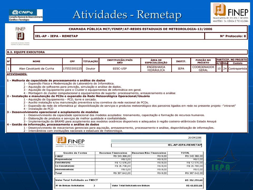 Atividades - Remetap