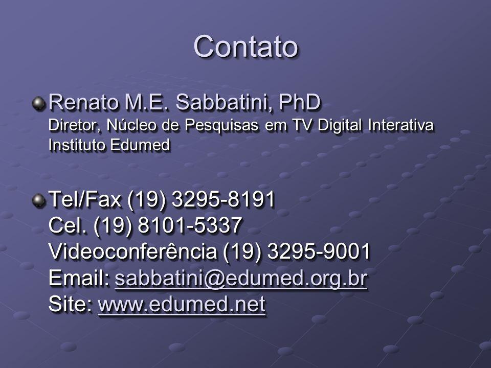 ContatoContato Renato M.E.