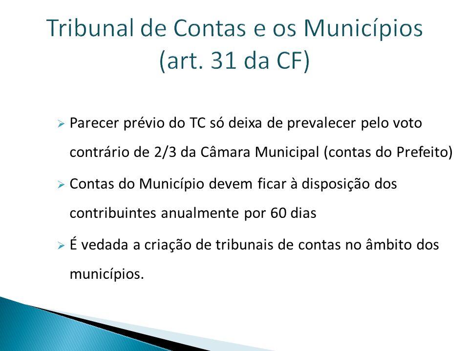 Controle Interno  Obrigatório pelo art.74 da CF.