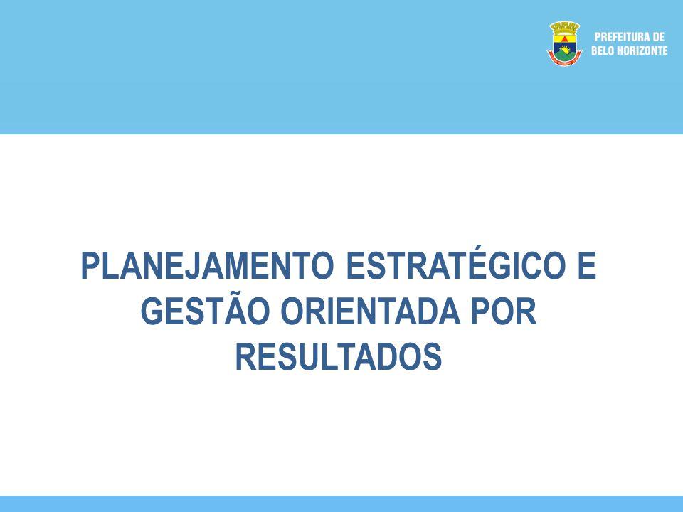 PLANEJAMENTO ESTRATÉGICO E GESTÃO ORIENTADA POR RESULTADOS