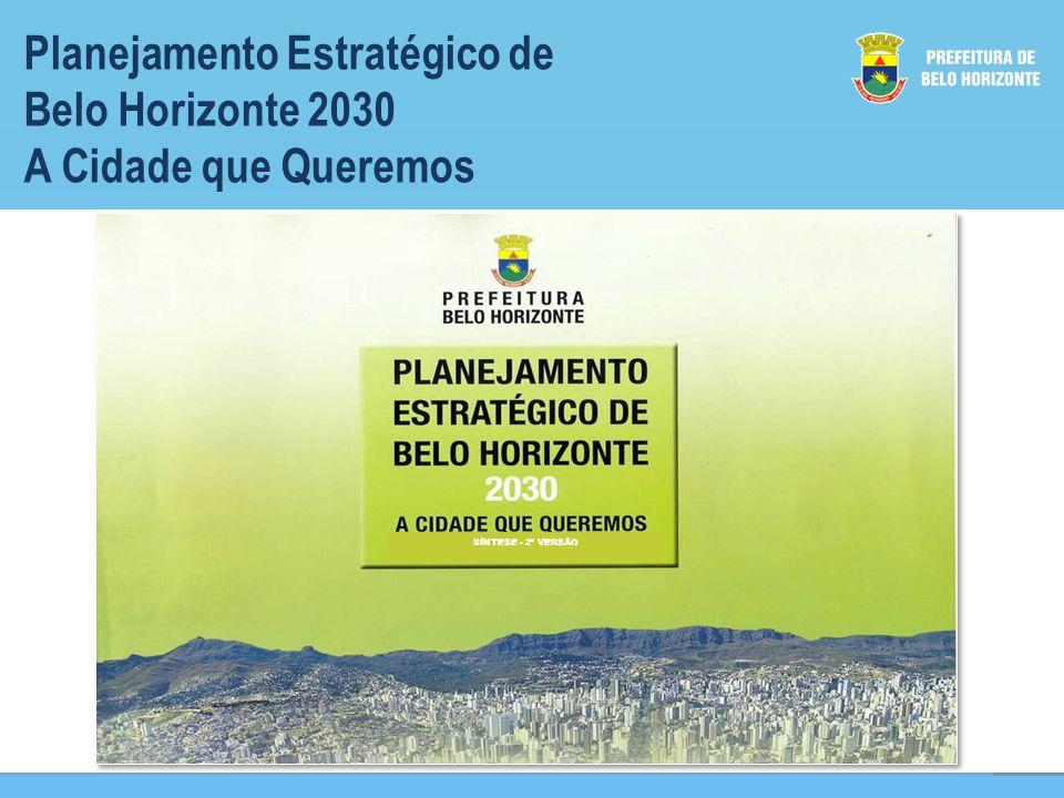 Planejamento Estratégico de Belo Horizonte 2030 A Cidade que Queremos Visão SÍNTESE - 2ª VERSÃO