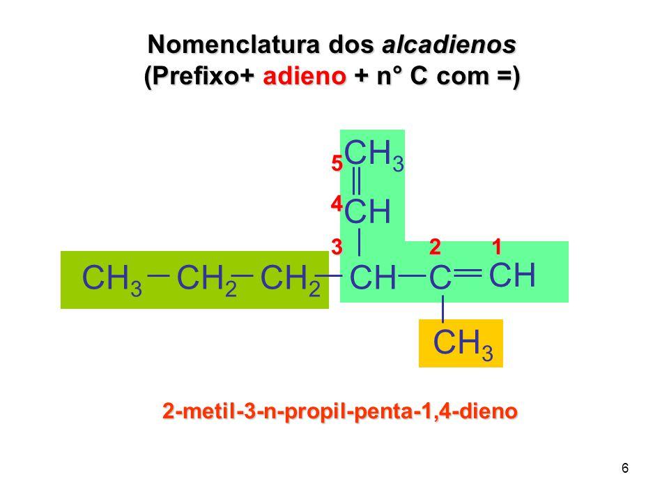 7 1,3-dimetil-benzeno ou meta-Xileno CH 3 - CH 3 CH 3 1,4-dimetil-benzeno ou para-Xileno Nomenclatura dos aromáticos ortoorto meta meta para X CH 3 - CH 3 1,2-dimetil-benzeno ou orto-Xileno