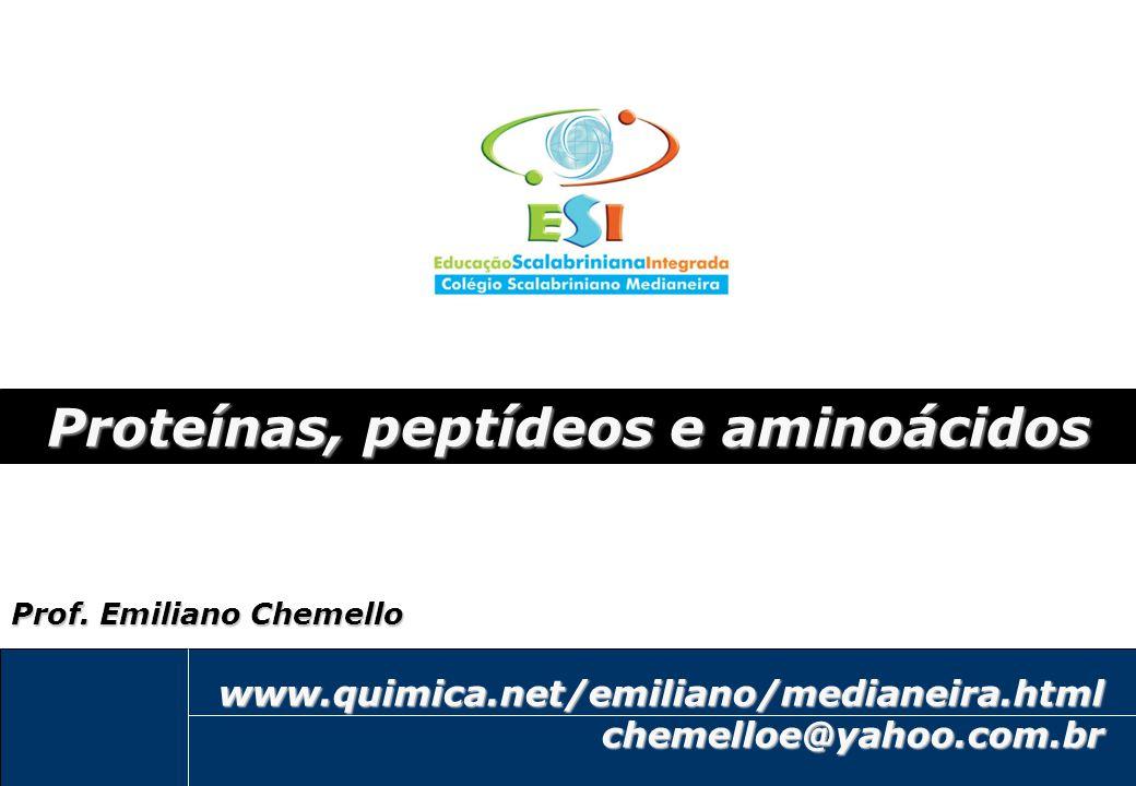 2 Proteínas, peptídeos e aminoácidos: Questões fundamentais Questões para serem respondidas ao final do vídeo: -Para que serve as proteínas.