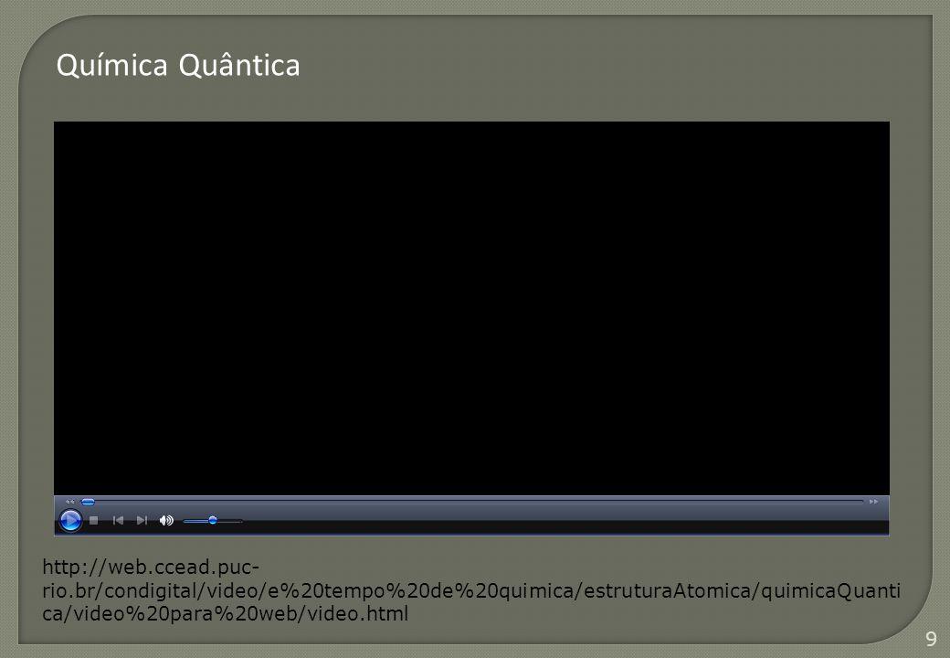 9 http://web.ccead.puc- rio.br/condigital/video/e%20tempo%20de%20quimica/estruturaAtomica/quimicaQuanti ca/video%20para%20web/video.html Química Quânt