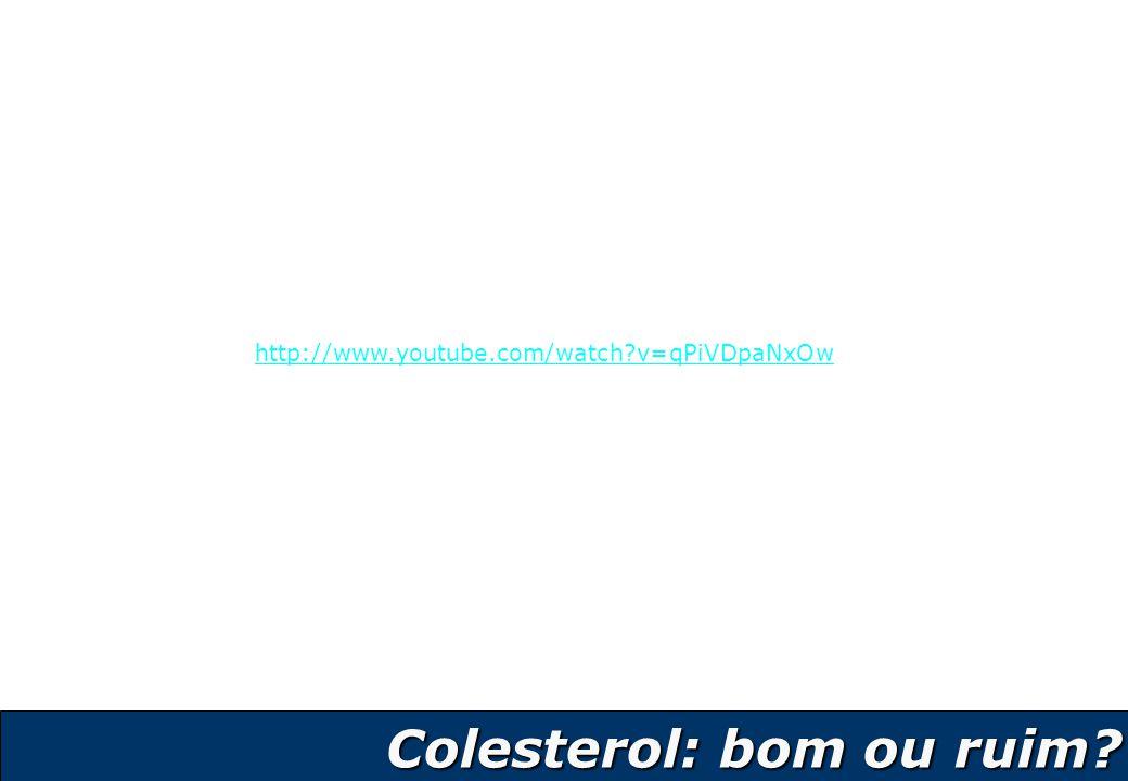 14 Colesterol: bom ou ruim? Colesterol: bom ou ruim? http://www.youtube.com/watch?v=qPiVDpaNxOw