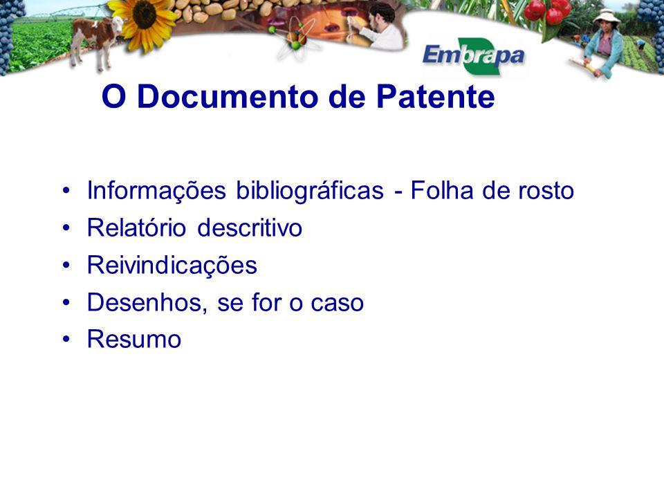 Estes códigos identificam todas as informações que constam da primeira página ou folha de rosto, como exemplo: Indicação dos números (11) Número do documento; (21) Número designado ao documento quando de seu depósito; (31) Número designado ao primeiro depósito (prioridade do documento).