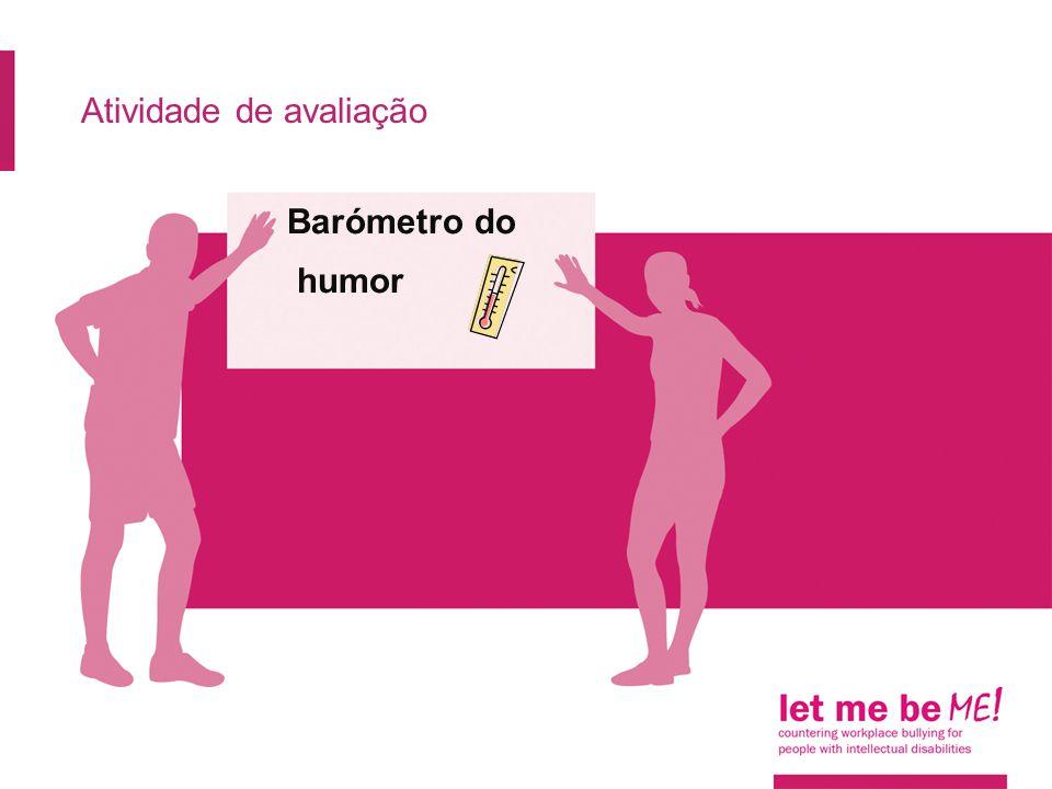 Atividade de avaliação Barómetro do humor