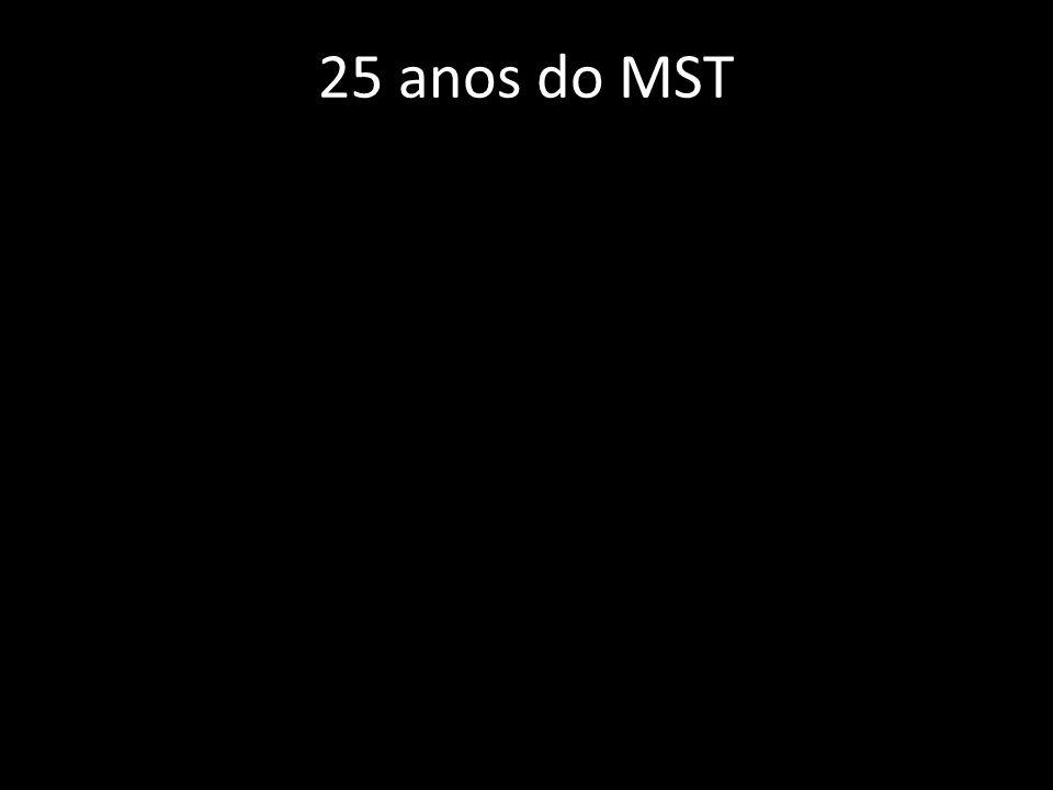 25 anos do MST