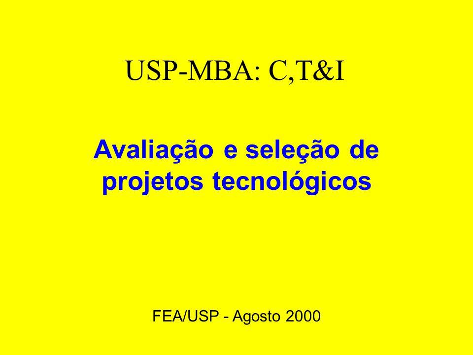 Avaliação: tempo Estrutura Organizacional De Uma Instituição Hipotética Bens e serviços C & T