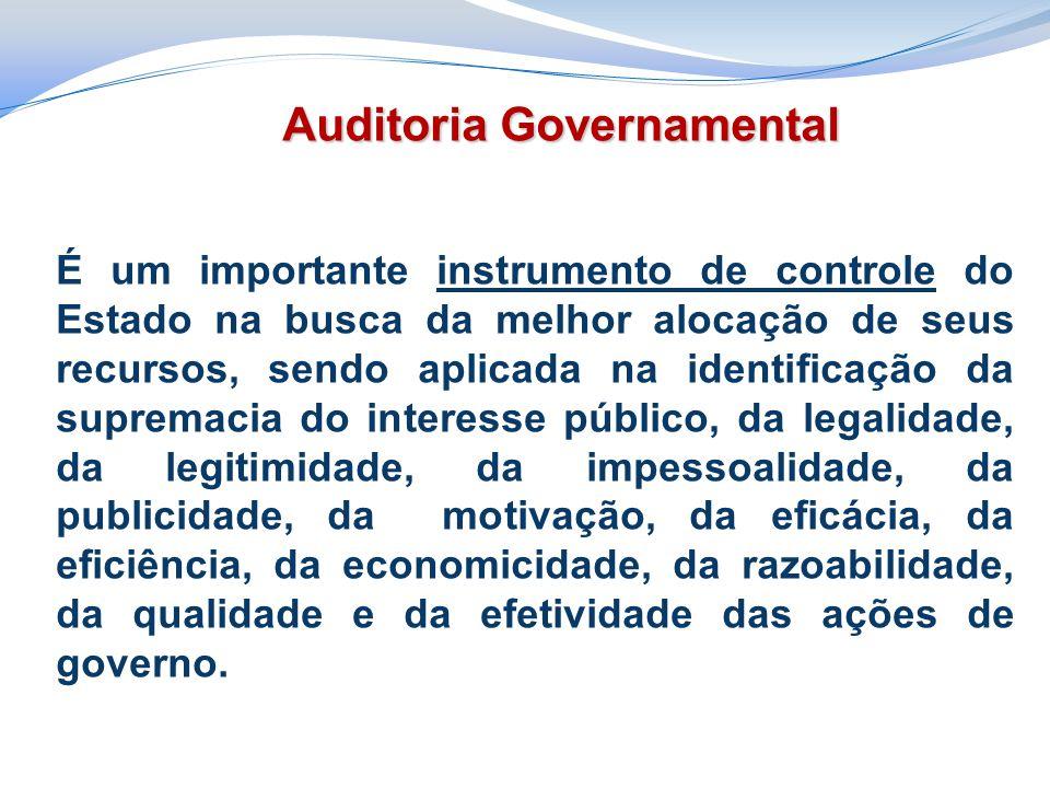 É um importante instrumento de controle do Estado na busca da melhor alocação de seus recursos, sendo aplicada na identificação da supremacia do inter