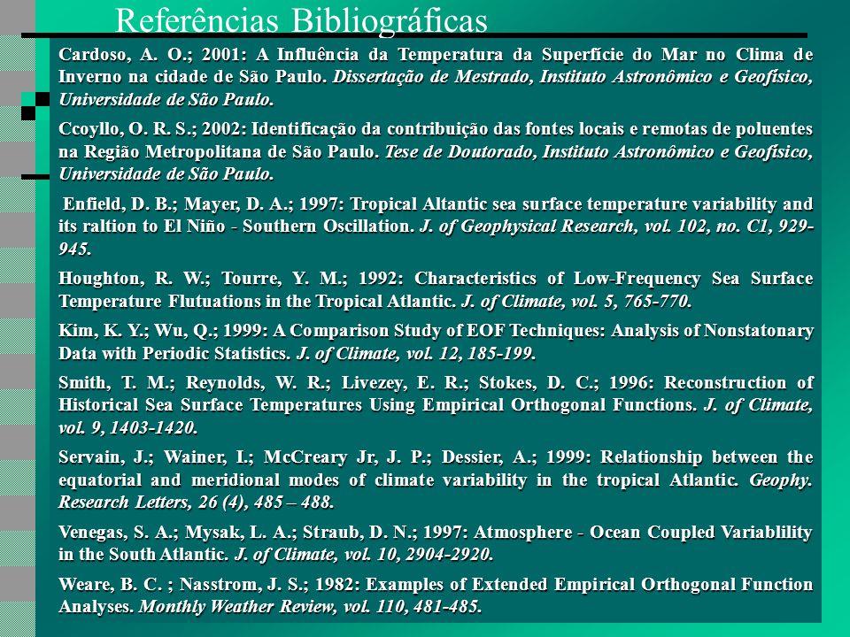 Referências Bibliográficas Cardoso, A.