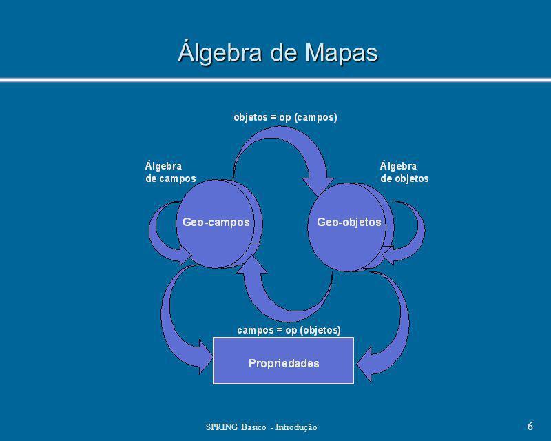 SPRING Básico - Introdução 6 Álgebra de Mapas