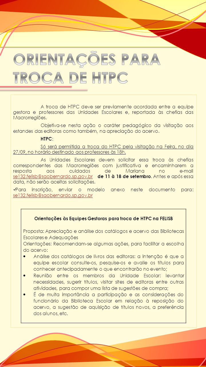 Será gratuita a entrada para todos os funcionários públicos municipais de São Bernardo do Campo, mediante apresentação da identificação funcional.