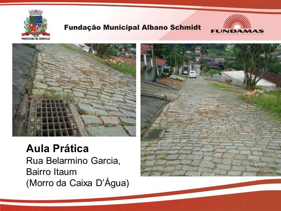Aula Prática Rua Belarmino Garcia, Bairro Itaum (Morro da Caixa D'Água)