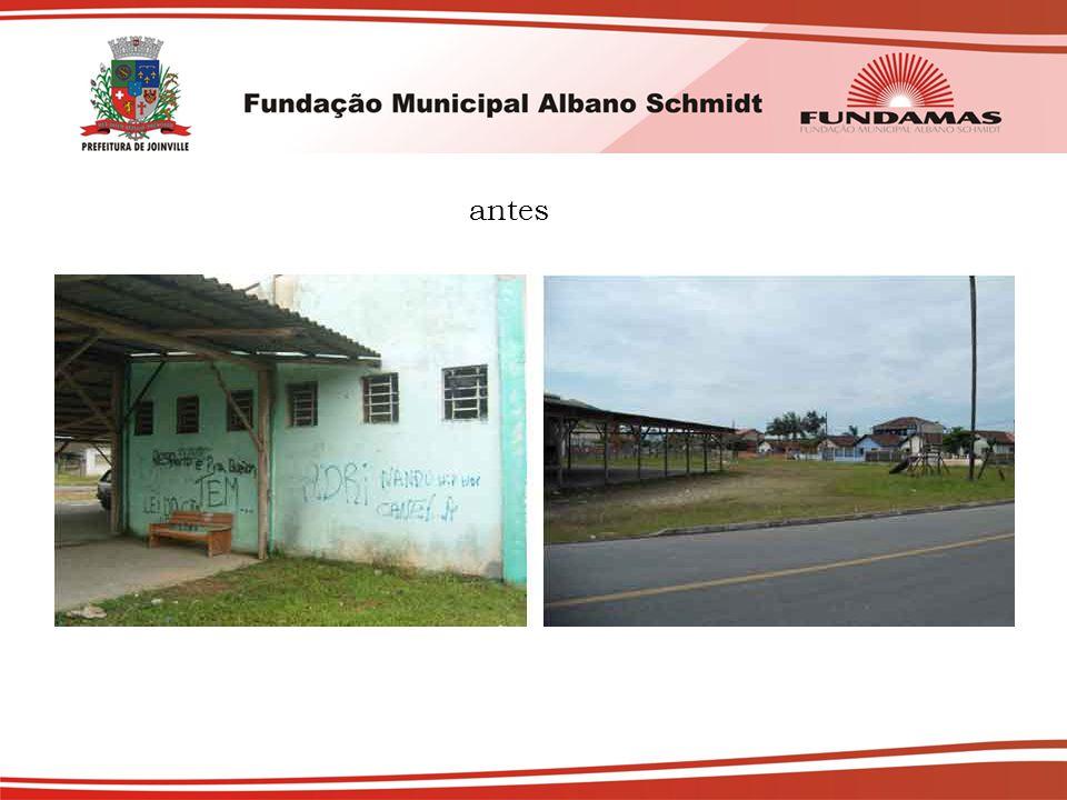 Resumo das atividades de 2009 Projeto de construção da sede própria da Escola Municipal de Saúde; Curso de Calceteiro (turma fechada para Cia Águas de Joinville).