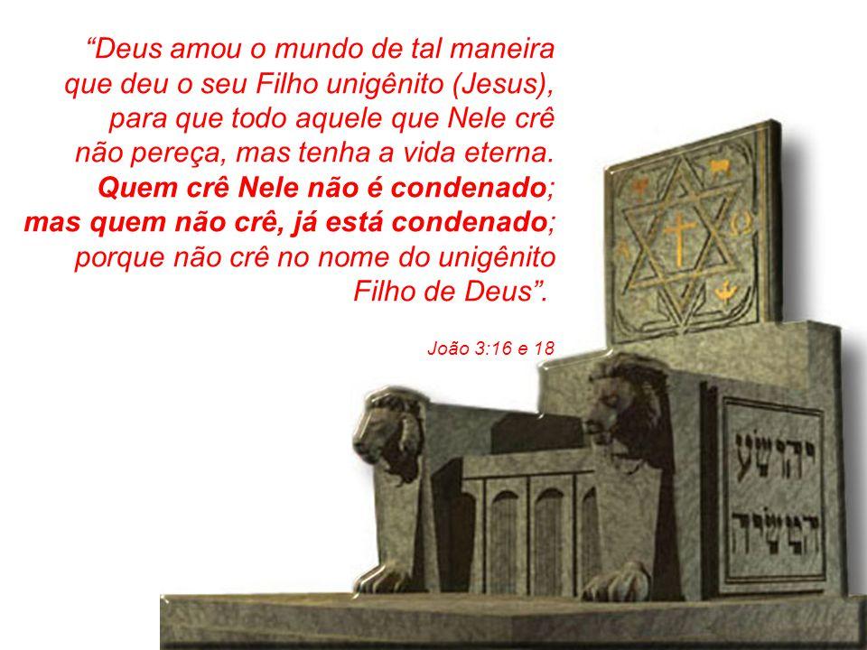 """""""Deus amou o mundo de tal maneira que deu o seu Filho unigênito (Jesus), para que todo aquele que Nele crê não pereça, mas tenha a vida eterna. Quem c"""