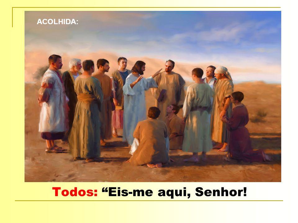 Aclamação: BUSCAI PRIMEIRO Buscai primeiro o Reino de Deus E a sua justiça e tudo mais Vos será acrescentado Aleluia.