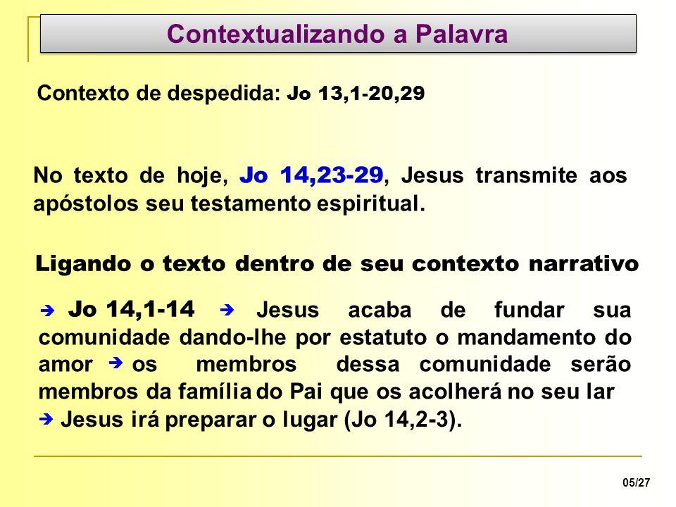 os membros dessa comunidade serão membros da família do Pai que os acolherá no seu lar Jesus acaba de fundar sua comunidade dando-lhe por estatuto o m