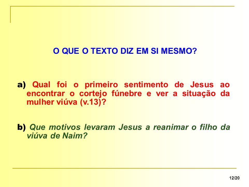 a) Quais atitudes que o texto nos ensina para participarmos com Jesus na efetivação de milagres.