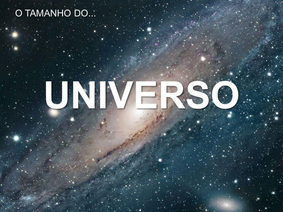 UNIVERSO O TAMANHO DO...