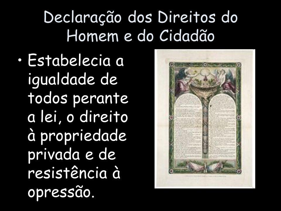 Na Assembléia dos Estados- Gerais foram abolidos os privilégios feudais.