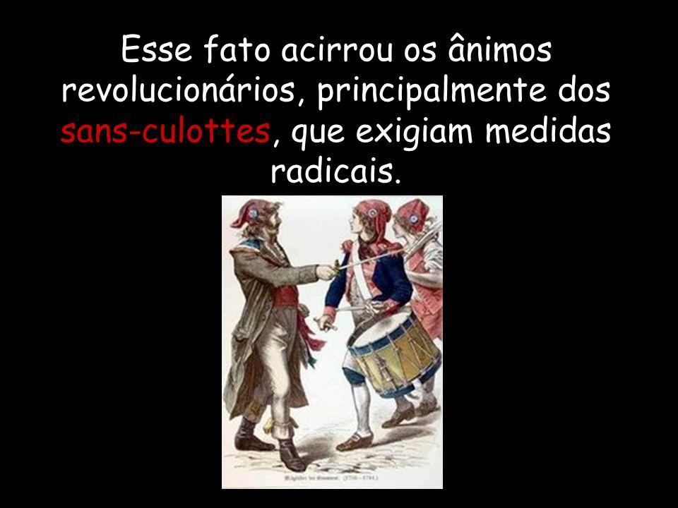 Cresciam as dificuldades econômicas do governo revolucionário, obrigando à intensa emissão de assignats, o que desencadeou especulação e uma inflação descontrolada.