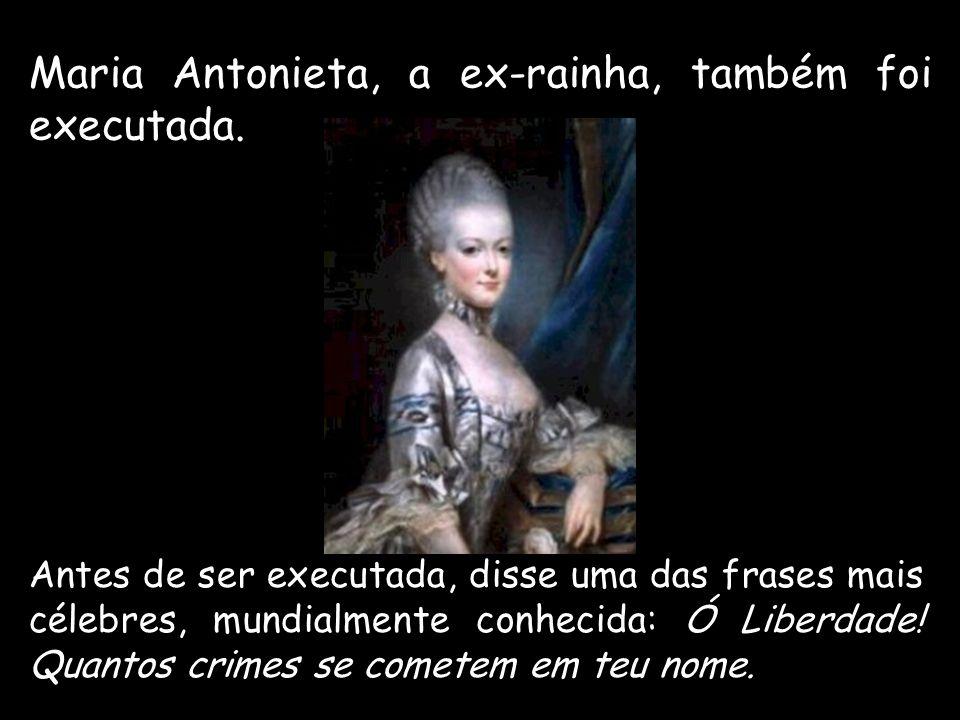 A liderança moderada de Danton foi substituída pelo poder de Robespierre – iniciava-se o período do Terror.