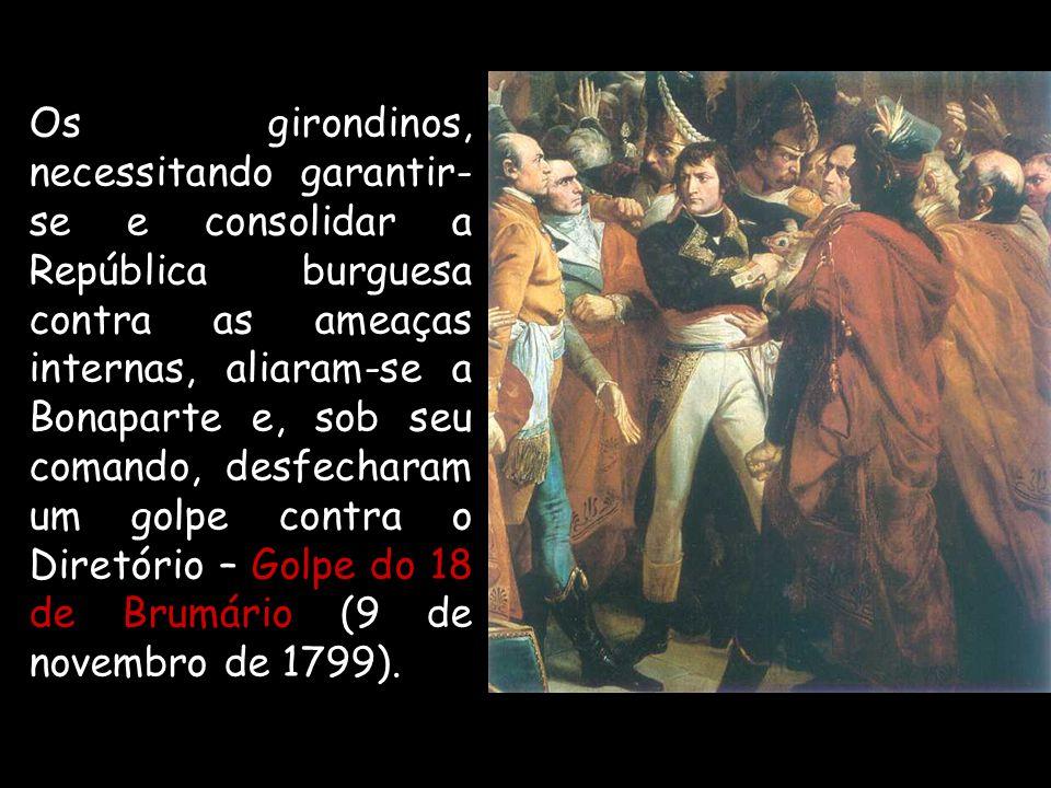 O exército francês vinha acumulando vitórias contra as forças absolutistas, em todos esses levantes destacou-se a figura de Napoleão Bonaparte.