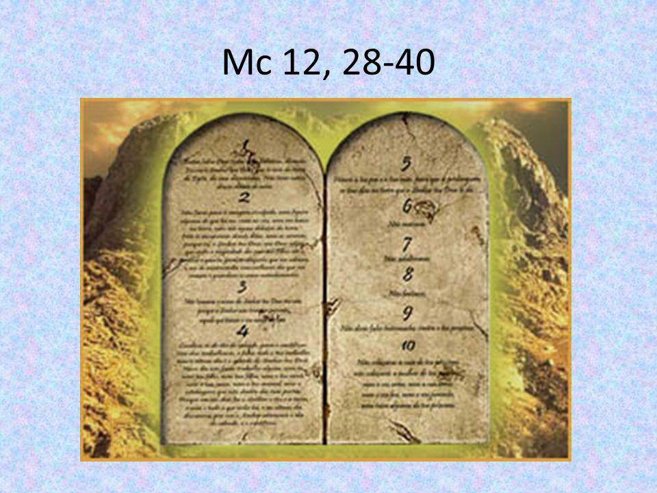 Mc 12, 28-40