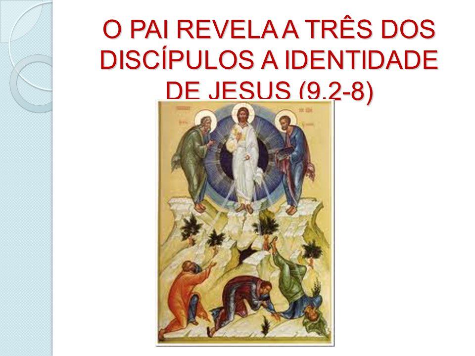 O PAI REVELA A TRÊS DOS DISCÍPULOS A IDENTIDADE DE JESUS (9,2-8)