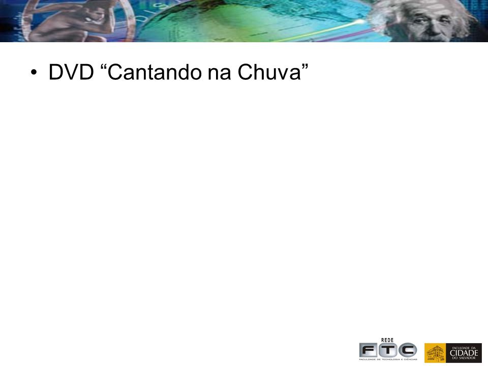 DVD Cantando na Chuva