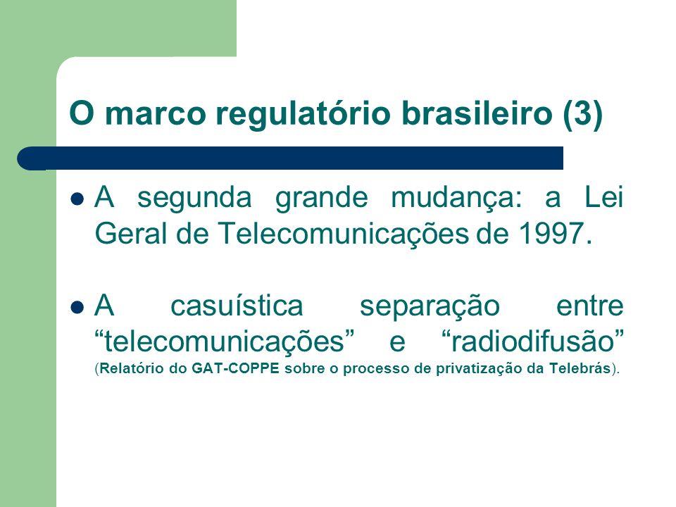 O marco regulatório brasileiro (2) A primeira grande mudança: o Decreto- Lei nº 236 de 1967. Alteração substancial do Capítulo VII: das infrações e pe