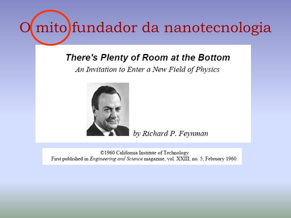 O mito fundador da nanotecnologia