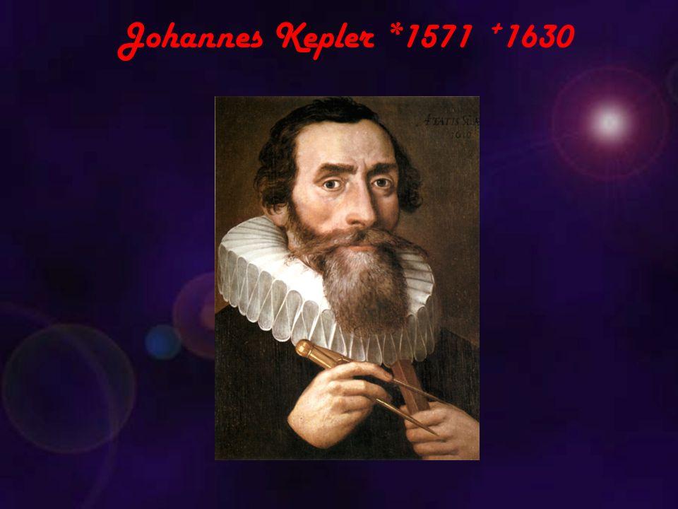 Johannes Kepler *1571 + 1630