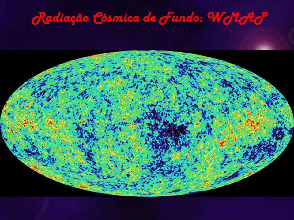 Radiação Cósmica de Fundo: WMAP
