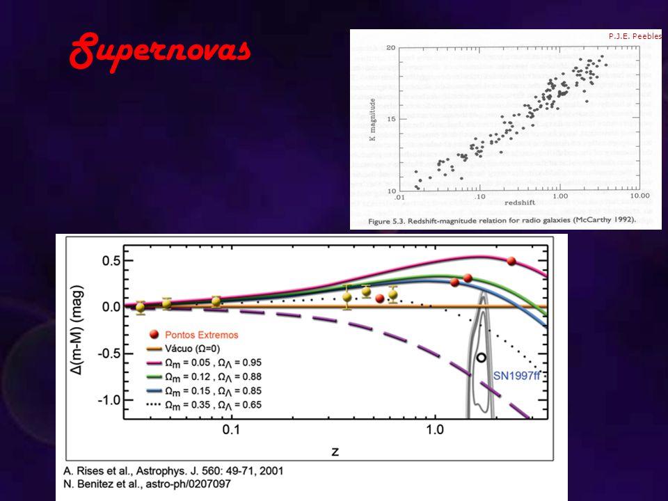 Supernovas P.J.E. Peebles