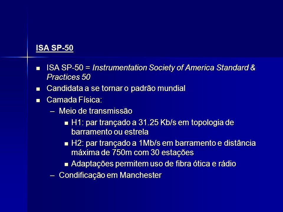 ISA SP-50 ISA SP-50 = Instrumentation Society of America Standard & Practices 50 ISA SP-50 = Instrumentation Society of America Standard & Practices 5