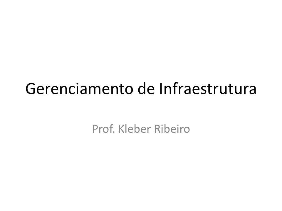 Gerenciamento de Infraestrutura Prof. Kleber Ribeiro